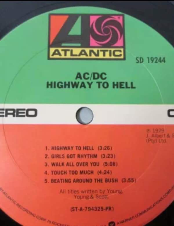 Ac Dc Highway To Hell Must Own Heavy Metal Hard Rock Albums